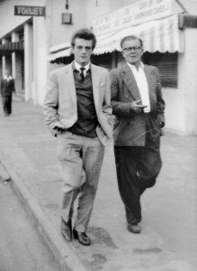 Ivor Senior with Junior 1964 Ramsgate seafront